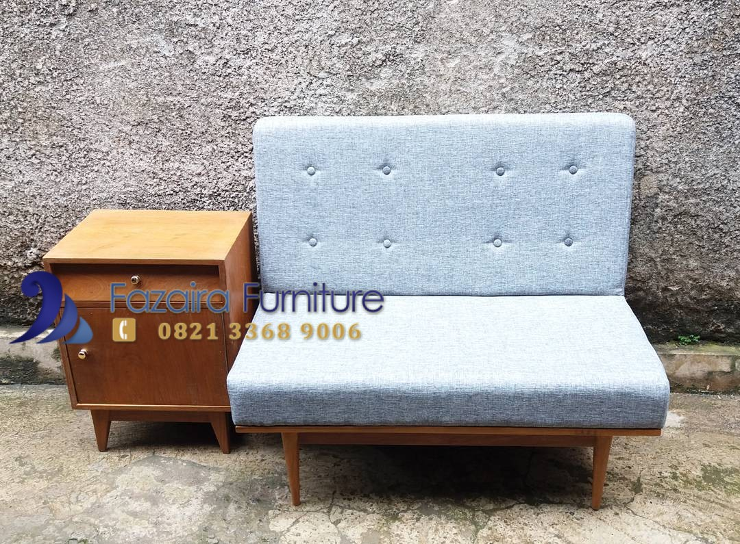 Harga Kursi Sofa Model Vintage Minimalis Kayu Jati By Fazaira Furniture