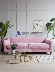 Kursi Sofa Santai Single Pink